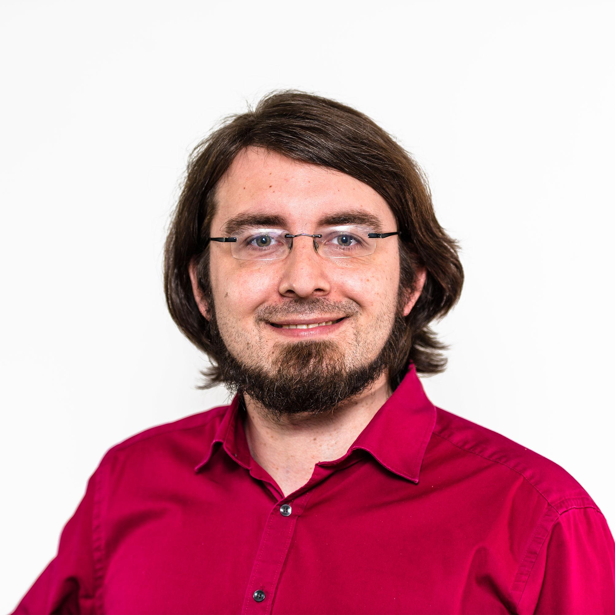 Ein Profilbild vom Web-Entwickler Sebastian Heuser
